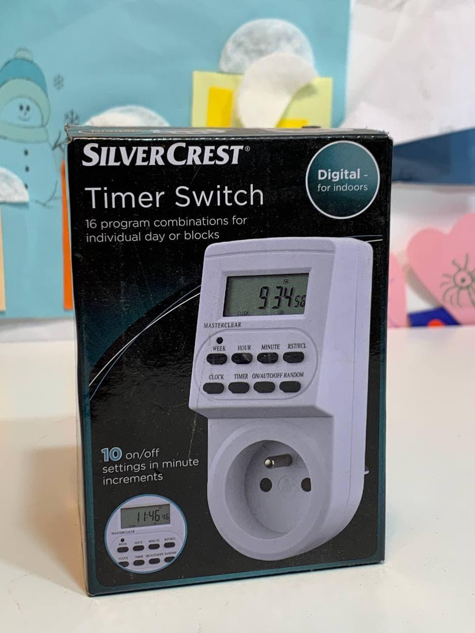 Электронный недельный программируемый таймер Timer switch Digital