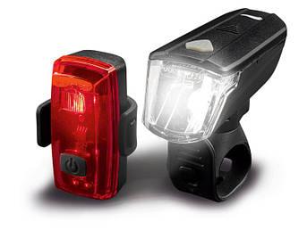 Велосипедные лампы CRIVIT PRO® SET 2 LED IAN 345367