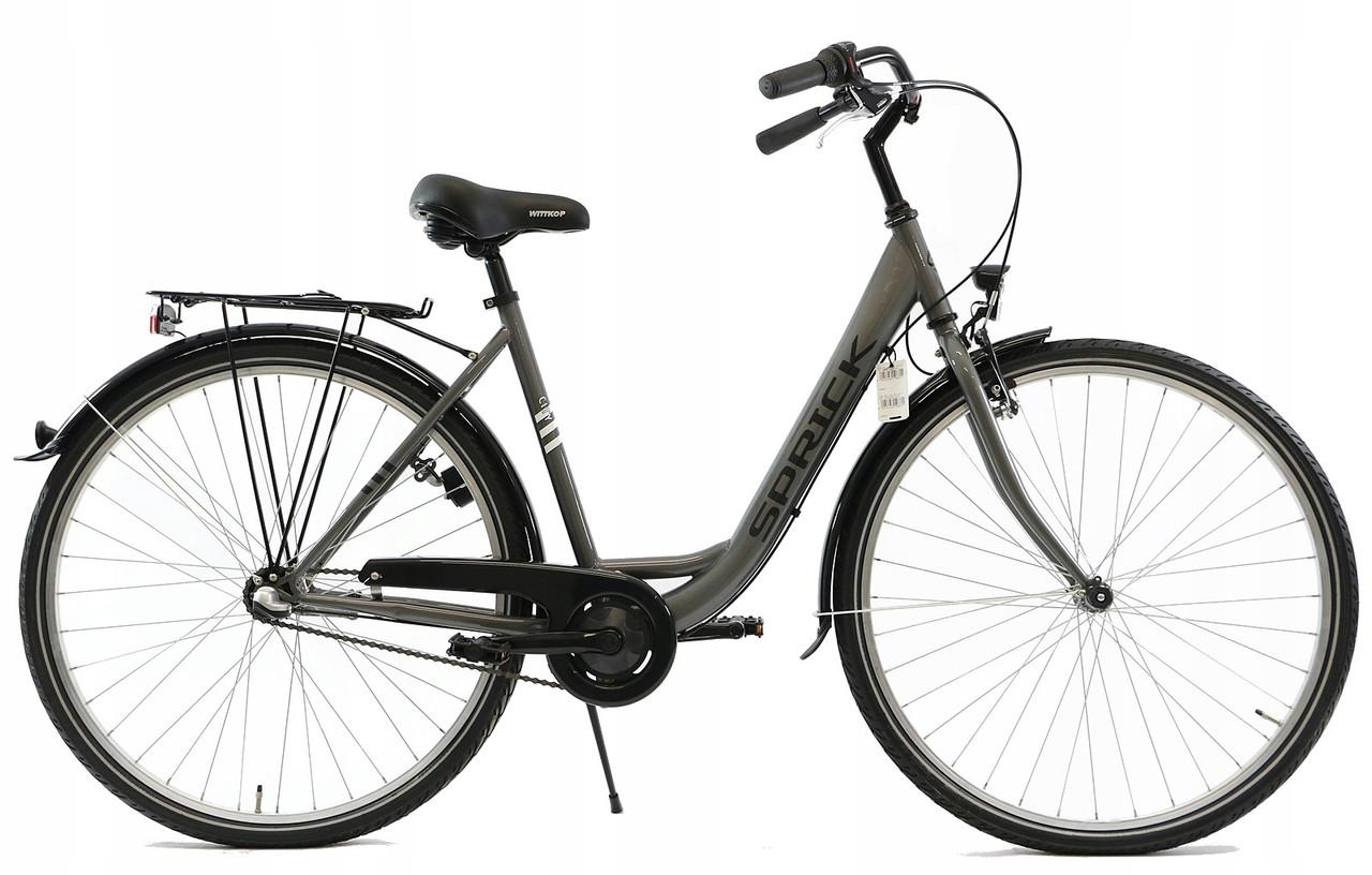 Велосипед SPRICK 28 Nexus 3 серый Германия