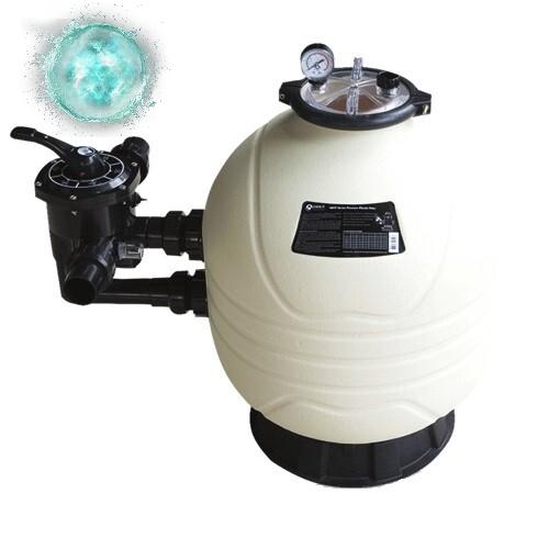 Фільтр для очищення води басейну Emaux MFS27А (14 м3/год, D675). Бочка фільтра для засипання піском