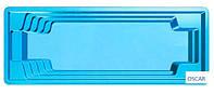 Композитний басейн Favorit 10,2 х 3,60 х 1,55 м, фото 1