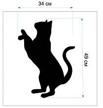 Трафарет для рідкіх шпалер - Кіт