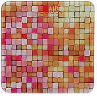 Весы напольные стеклянные (квадратные) на 180 кг YZ-1604 Разноцветная (9859)