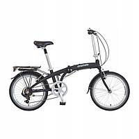 Складной велосипед Prophete 20 Shimano 7 Schwarz Германия, фото 1