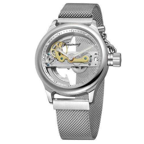 Forsining 019 All Silver Diamonds