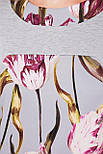 Тюльпан платье прямого силуэта  Матильда-Б д/р, фото 4