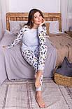 Женская трикотажная пижама с брюками Амаль, фото 5
