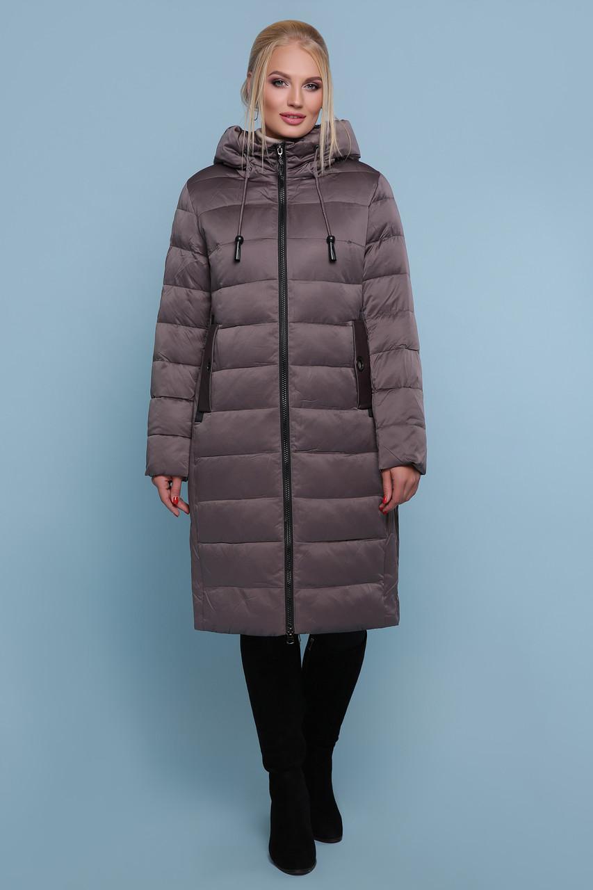 Женская зимняя куртка  без меха  18-197-Б