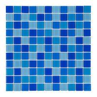 Мозаика стеклянная Jamaika Cristall светлая (425045)
