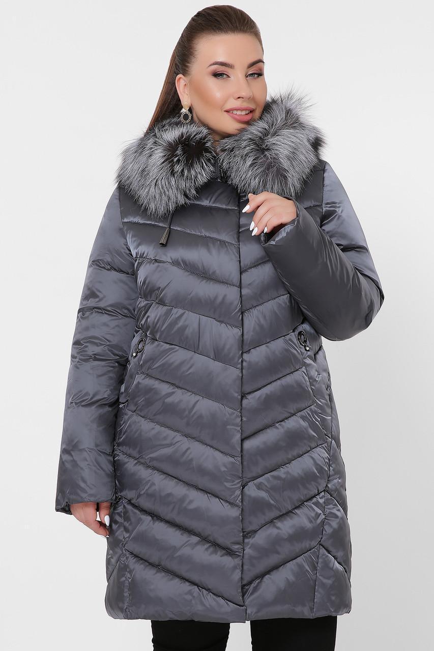 Жіноча зимова куртка 19-60-Б