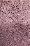 Гіпюрову плаття рожеве Санія-Б 3/4, фото 5