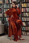 Женский велюровый  халат Мирелла, фото 2