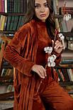 Женский велюровый  халат Мирелла, фото 3