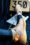 Adidas Yeezy Boost 350 Clay (коричнево-оранжевые), фото 3