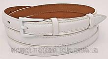 Ремінь шкіряний жіночій Fs.Style 1501SD9 білий