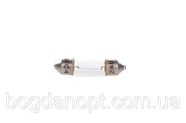 Лампа 24V софитная C3W24V 3W SV7-8 (пр-во Bosch) 1 987 302 528