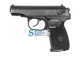 Пистолет пневматический МР-654к с чёрной рукоятью