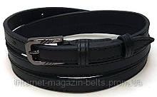 Ремінь шкіряний жіночій Fs.Style 1501SD9 чорний