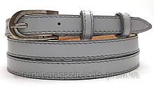 Ремінь шкіряний жіночій Fs.Style 1501SD9 сірий
