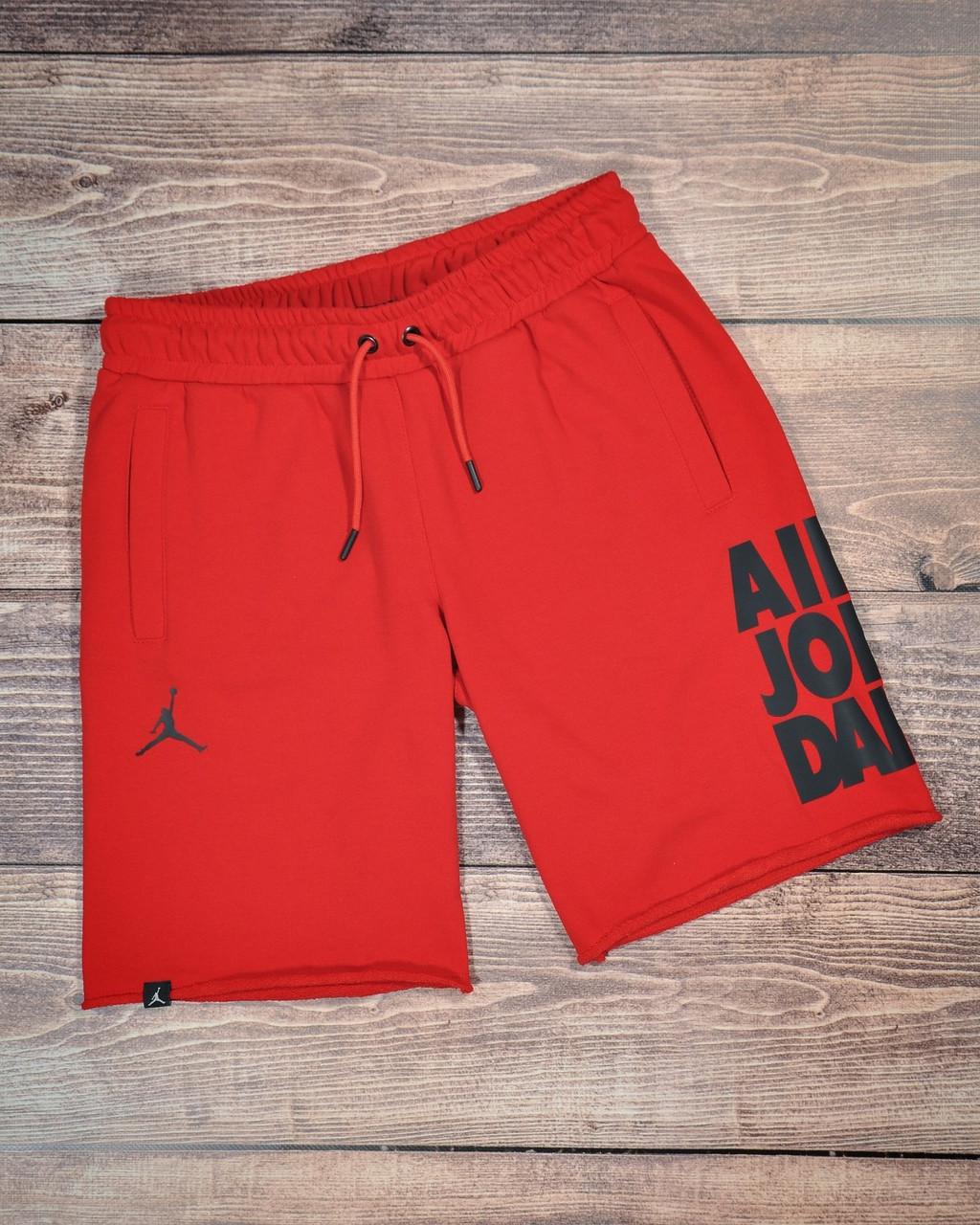 Мужские спортивные красные шорты