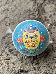 Мяч счастливый совёнок Djeco 12см.