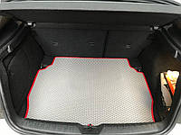 Porsche Cayenne 2010-2017 рр. Килимок багажника з сабвуфером (EVA, сірий)