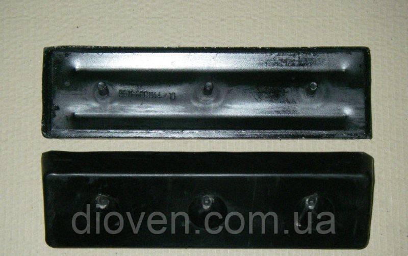 Амортизатор платформы КАМАЗ в сб. 3 шпильки 380х100х47 (пр-во Россия) (Арт. 5511-8601144)