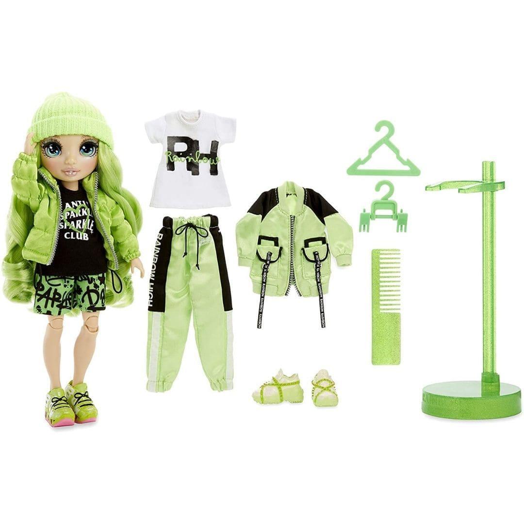 Кукла Рейнбоу Хай Джейд Хантер Rainbow High S2 Jade Hunter