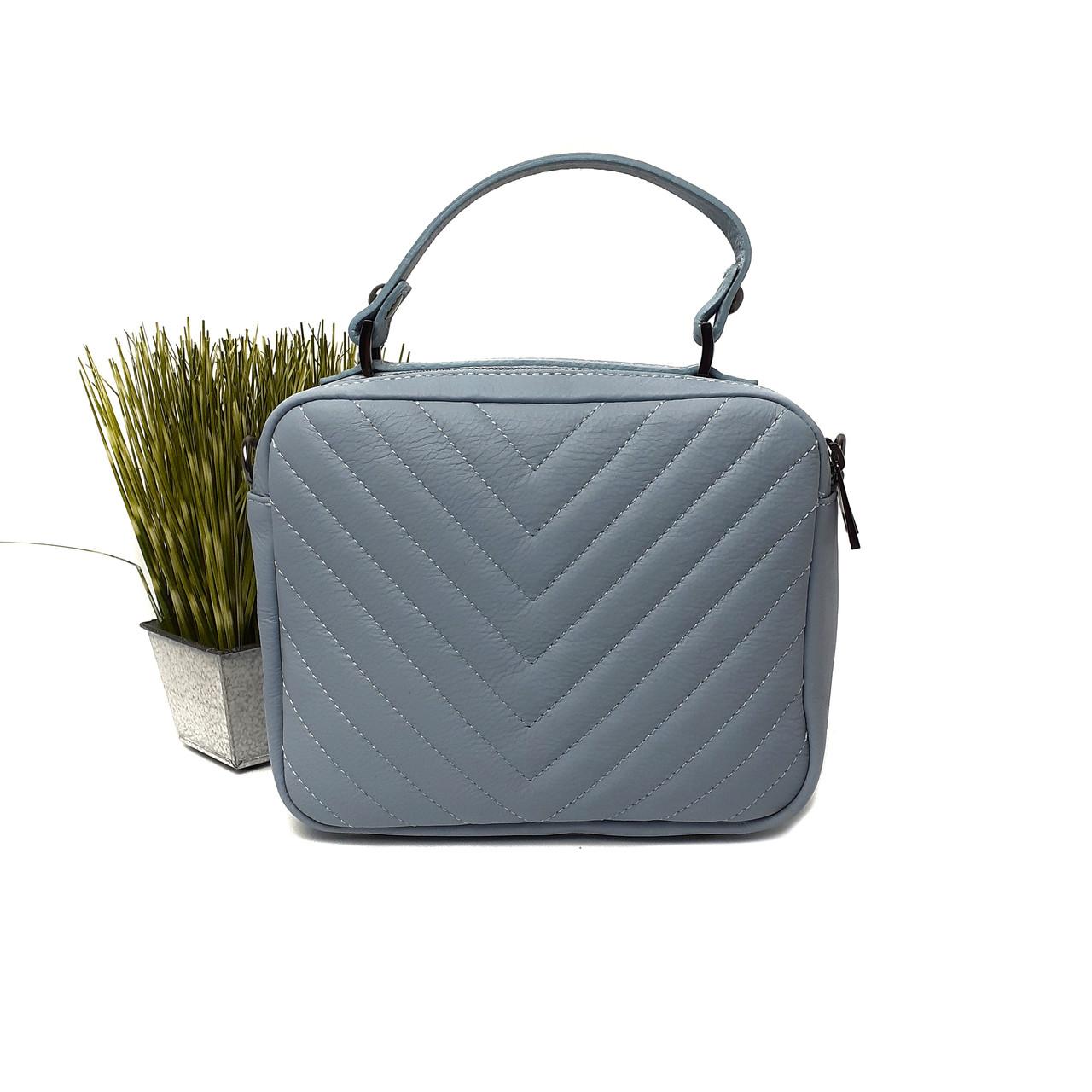 Стильная женская сумка Арт.3055  (BB) V.P. Італія
