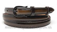 Ремінь шкіряний жіночій Fs.Style 1518oli1 коричневий лак