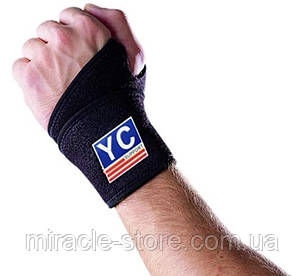 Напульсник Неопреновий з Фіксатором для Волейболу Wrist Wrap бандаж на руку, фото 2