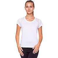 Футболка женская спортивная UNDER ARMOUR Для фитнеса йоги для пилатеса Белый (CO-826) M