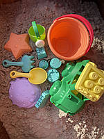 Набір для пісочниці з машинкою пісочний набір HG-770