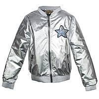 Стильна весняна куртка для дівчинки на ріст 134-152