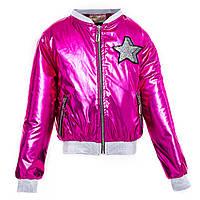 Найяскравіша модна демі куртку для дівчинки на ріст 134-152