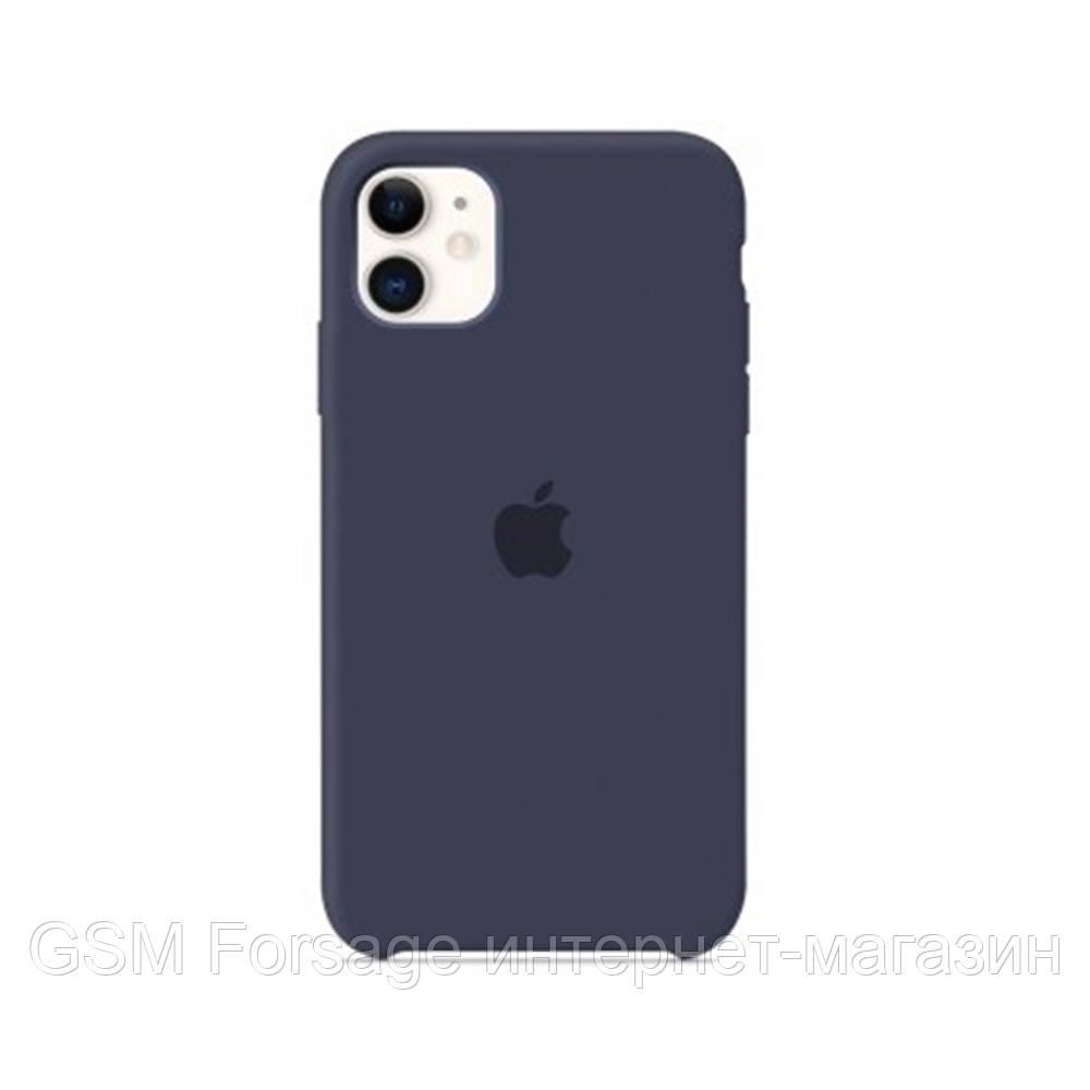 Чохол Silicone Case для iPhone 11 OR Midnight Blue
