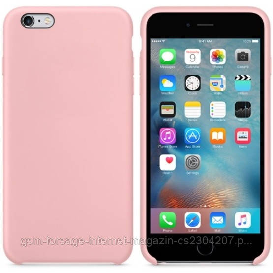 Чохол Silicone Case для iPhone 6 plus, iPhone 6S Plus OR Cotton Candy