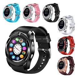 Сенсорные Smart Watch V8 смарт часы умные часы AVE