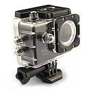 Экшн камера A7 FullHD + аквабокс + Регистратор Полный компект+крепление шлем ЧЕРНАЯ AVE, фото 5