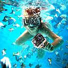 Екшн камера A7 FullHD + аквабокс + Реєстратор Повний компект+кріплення шолом СРІБЛО, фото 2