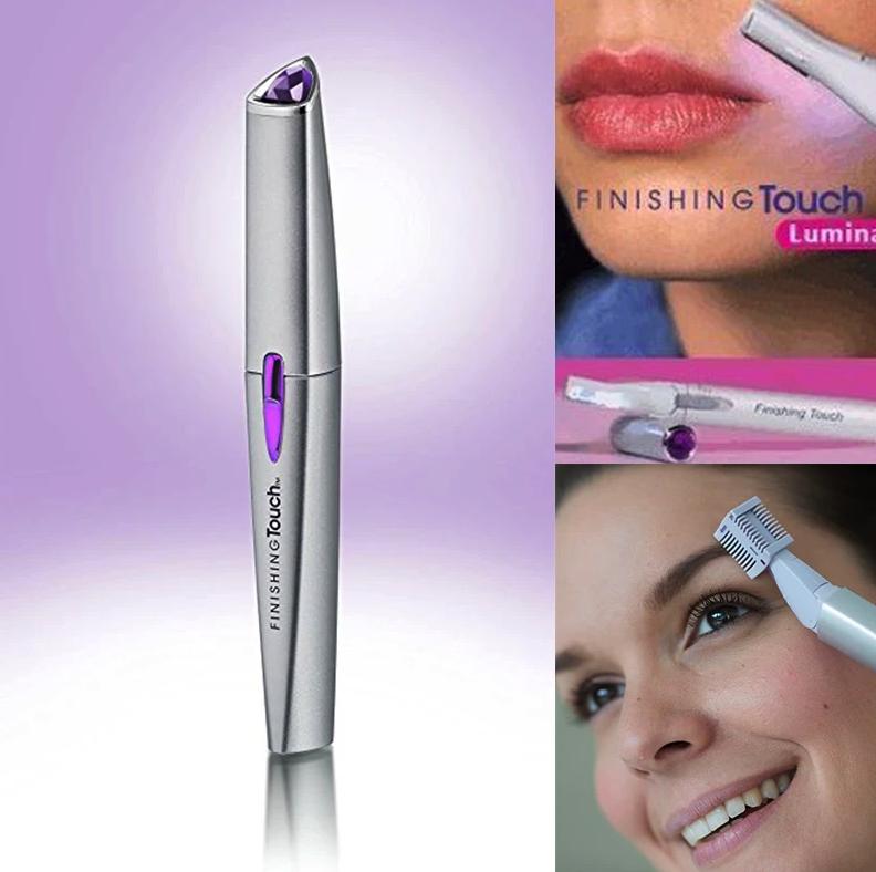 Женский триммер Finishing Touch Lumina A171 для удаления нежелательных волос на лице и теле AVE