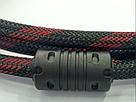 Кабель HDMI на HDMI (V1.4) с фильтром в тканевой оболочке 3 метра AVE, фото 4