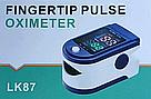 Портативний пульсометр оксиметром на палець Pulse Oximeter LK87, фото 4