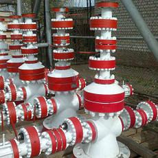 Устьевое оборудование для газодобычи