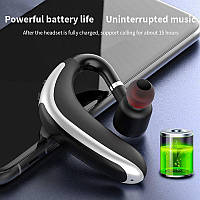 Bluetooth гарнитура K20,блютуз, музыка на 2 уха,( v9 V8)