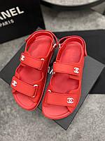 Стильні сандалі Шанель (репліка), фото 1