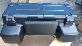 Кофра для квадроцикла с мягкой спинкой универсальное крепление пластиковая с замками 81 литра ATV 8015