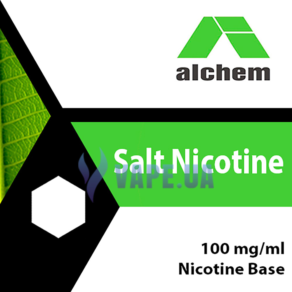 Сольовий Никобустер Alchem 100 mg/ml, 100 мл.