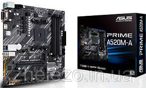 Материнська плата Asus Prime A520M-A Socket AM4