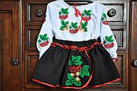 """Вышиванка для девочки костюм """"Калина"""" (2-3 года)"""